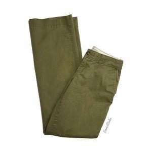 OLD NAVY Olive Green Chino Khaki Style Pants